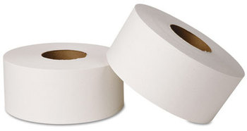 Picture of item 887-608 a Wausau Paper® EcoSoft™ Jumbo Tissue,  2-Ply, 12 Rolls/Carton