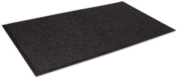 Picture of item CWN-SSR046CH a Super-Soaker™ Scraper/Wiper Floor Mat with Gripper Bottom. 45 X 68 in. Charcoal color.