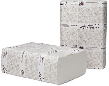 Picture of item 872-511 a Artisan® Multifold Towels. 9 1/8 X 9 1/2 in. White. 3000 towels.