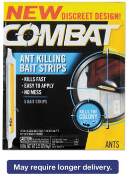 Combat® Ant Bait Insecticide Strips,  0.35 oz, 5/Box