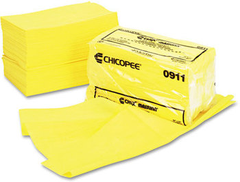 Picture of item 823-209 a Chix® Masslinn® Dust Cloths,  24 x 24, Yellow, 50/Bag, 2 Bags/Case.