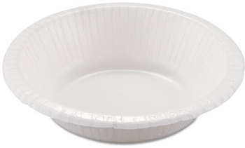 Picture of item 150-116 a Dixie Basic™ Paper Dinnerware,  Bowls, White, 12 oz, 125/Pack