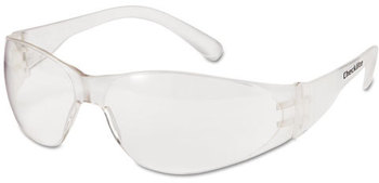Picture of item CRW-CL010 a Crews® Checklite® Safety Glasses with Clear Frame and Lenses.