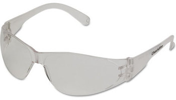 Picture of item CRW-CL110AF a Crews® Checklite Safety Glasses with Clear Frame and Anti-Fog Lenses.