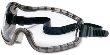 Picture of item CRW-2310AF a Crews® Stryker Goggles,  Chemical Protection, Black Frame