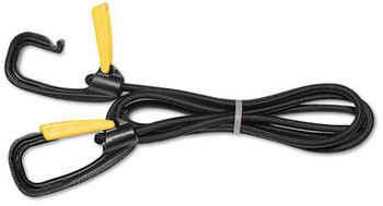 Picture of item KTK-LGLC10 a Kantek Bungee Cord with Locking Clasp,  Black, 72""