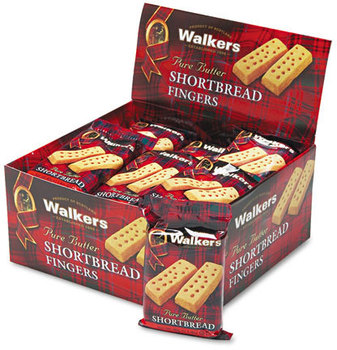 Picture of item OFX-W116 a Walkers Shortbread Cookies,  2/Pack, 24 Packs/Box