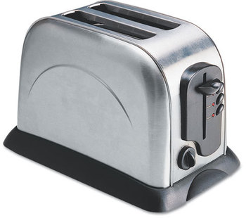 Coffee Pro 2-Slice Toaster,  Stainless Steel