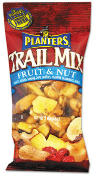Picture of item PTN-00026 a Planters® Trail Mix,  Fruit & Nut, 2oz Bag, 72/Carton