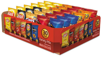 Picture of item LAY-52347 a Frito-Lay Classic Variety Mix 30 Ct,  Assorted, 30 Bags per Box