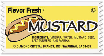 Diamond Crystal Flavor Fresh® Condiment Packets,  .317oz, 200/Carton