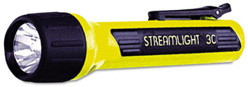 Streamlight® ProPolymer® LED Flashlight,  3C (Sold Separately), Black