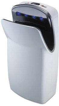 Picture of item WRL-V674A a WORLD DRYER® VMax,  High Impact ABS, White