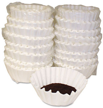 Picture of item MLA-620014 a Melitta® Basket Style Coffee Filters,  Paper, 12 to 15 Cups, 800/Carton