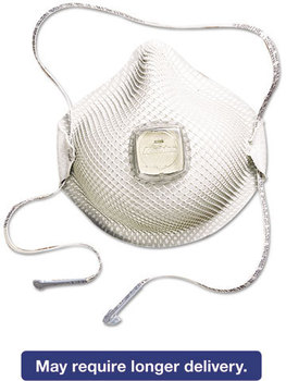 Picture of item MLX-2700N95 a Moldex® HandyStrap® Respirator 2700N95 Series,  Half-Face Mask, Medium/Large, 10/Box