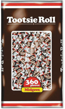 Picture of item TOO-7806 a Tootsie Roll® Midgees®,  Original, 38.8oz Bag, 360 Pieces
