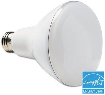 Verbatim® LED BR30 Bulb ENERGY STAR® Bulb,  650 lm, 8 Watt, 120 V