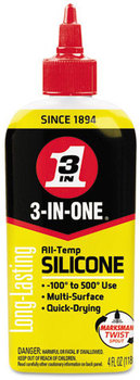 WD-40® 3-IN-ONE® Professional Silicone Lubricant,  4 oz Bottle