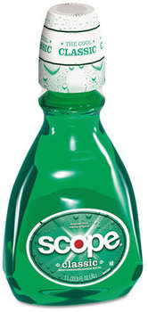 Scope® Mouthwash,  Original Mint, 33.8oz Bottle, 6/Carton