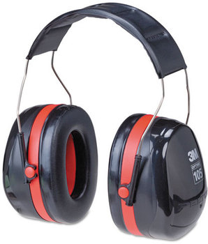 Picture of item MMM-H10A a 3M™ Peltor™ OPTIME™ 105 High Performance Earmuffs,