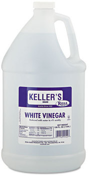 Rosa Marca Brand White Vinegar,  4%, 128oz, 4/Carton