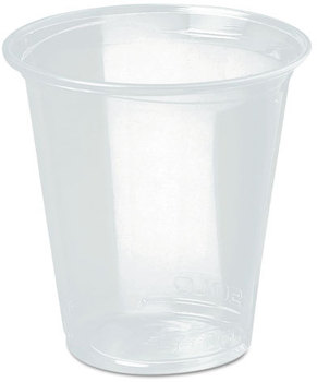 Picture of item 964-412 a SOLO® Cup Company Reveal™ Polypropylene Plastic Cold Cups.  12 oz. Clear. 1000 count.