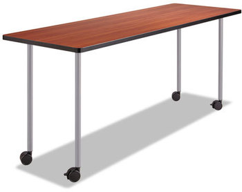 Picture of item SAF-2074SL a Safco® Impromptu® Series T-Leg & Post Leg Table Base,  5 1/4w x 5 1/4d x 28h, Silver