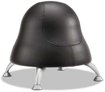 Picture of item SAF-4756BV a Safco® Runtz™ Vinyl Ball Chair. 12 X 17 in. Black.