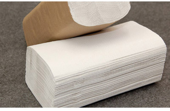 Picture of item NPS-21750 a Response® Single-Fold Paper Towels. 9.25 X 10.25 in. White. 4000 towels.