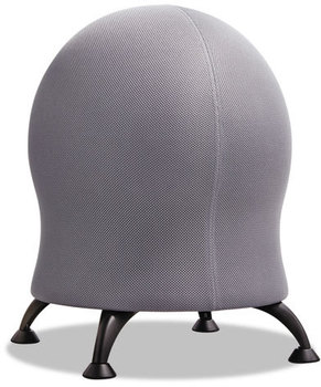 "Picture of item SAF-4750GR a Safco® Zenergy™ Ball Chair,  22 1/2"" Diameter x 23"" High, Gray/Black"