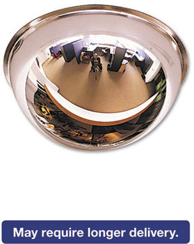"Picture of item SEE-PV26360 a See All® Full Dome Mirror,  26"" dia."