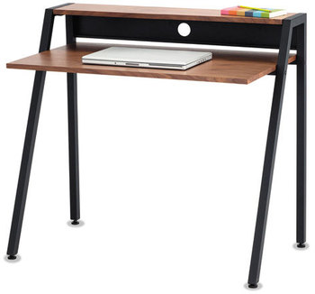 Picture of item SAF-1951BL a Safco® Writing Desk,  37 3/4 x 22 3/4 x 34 1/4, Natural/Black