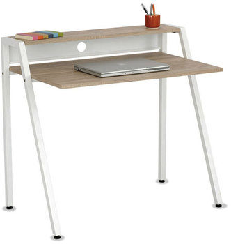 Picture of item SAF-1951WH a Safco® Writing Desk,  37 3/4 x 22 3/4 x 34 1/4, Beech/White