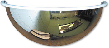 "Picture of item SEE-PV18180 a See All® Half-Dome Mirror,  18"" dia."