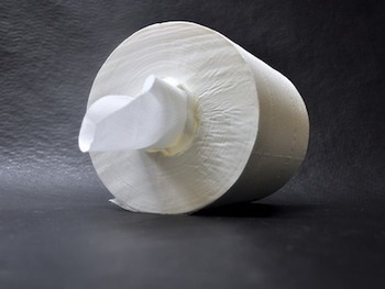 Picture of item 874-903 a Retain™ 2-ply Center-Pull Roll Towels. 7.62 X 10 in. White. 3600 sheets.