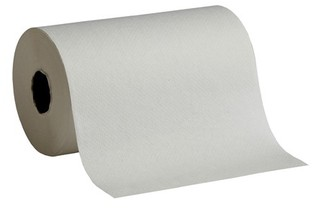 Picture of item 875-101 a GP Envision® Hardwound Roll Towels. 7.87 in X 350 ft. White. 12 rolls.