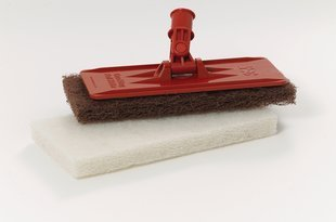 Picture of item 965-769 a 3M™ Doodlebug™ Pad Holder. Orange.