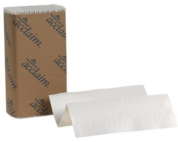 Picture of item 872-103 a Acclaim® Multifold Paper Towels. 9.2 X 9.4 in. White. 4000 towels.