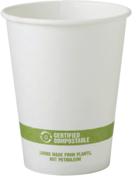 Picture of item WCC-CUPA12 a FSC® Paper Hot Cups. 12 oz. White. 1000 count.