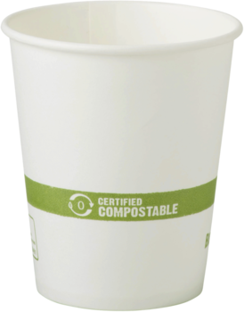 Picture of item WCC-CUPA6 a FSC® Paper Hot Cups. 6 oz. White. 1000 count.